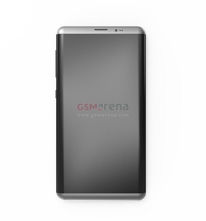 ảnh render Samsung Galaxy S8