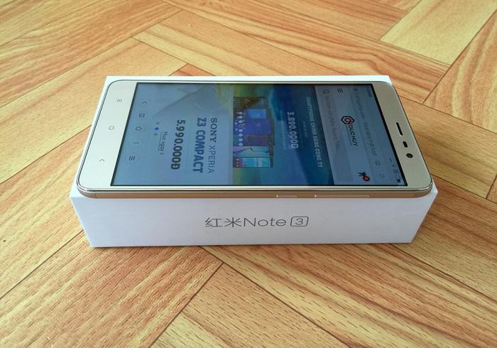 khui hộp Xiaomi Redmi Note 3 Pro 3