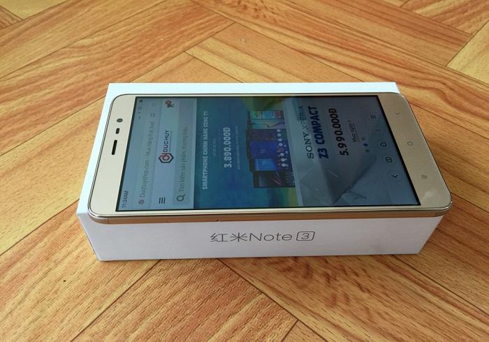 khui hộp Xiaomi Redmi Note 3 Pro 5