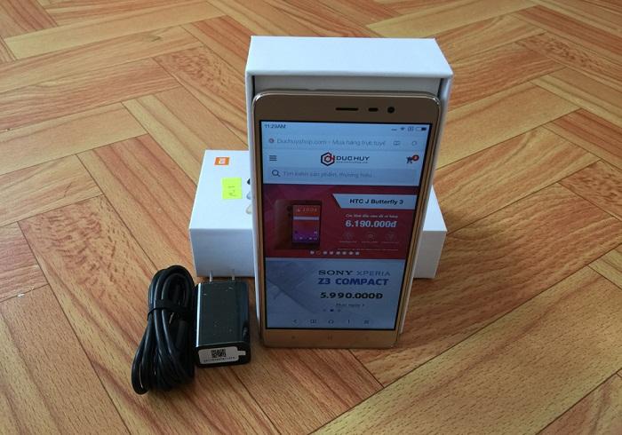 khui hộp Xiaomi Redmi Note 3 Pro 2