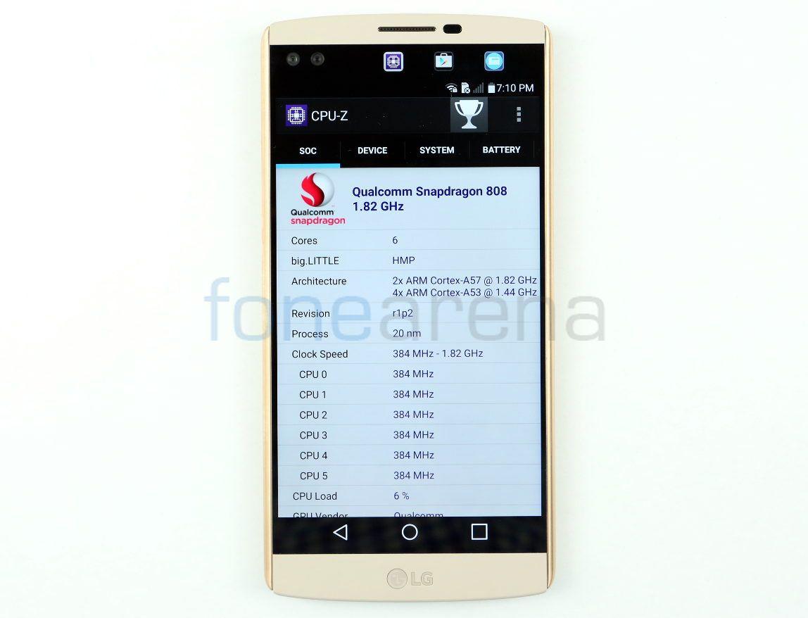 LG V10 hiệu năng