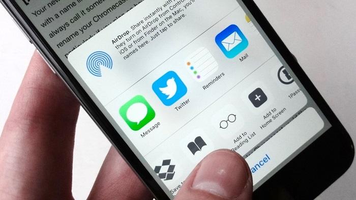 lưu địa chỉ web trên iPhone và điện thoại Android 1