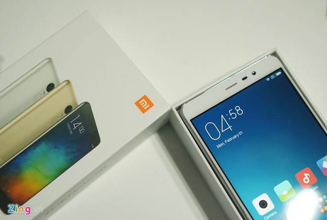 Trên tay Xiaomi Redmi Note 3 Pro