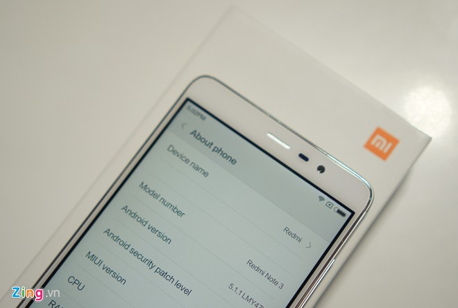 Trên tay Xiaomi Redmi Note 3 Pro 7