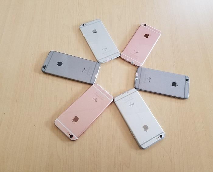 Màu sắc iPhone 6S Lock