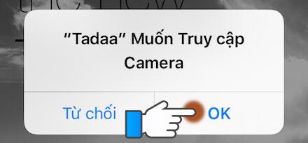 Mẹo chụp ảnh xóa phông trên iPhone 6S: Bước 3