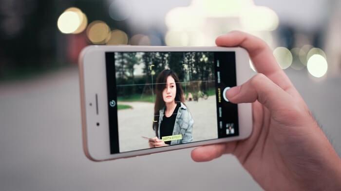 Mẹo chụp ảnh xóa phông trên iPhone 6S