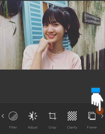 Mẹo chụp ảnh xóa phông trên iPhone 6S: Bước 7