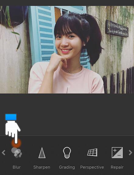 Mẹo chụp ảnh xóa phông trên iPhone 6S: Bước 8