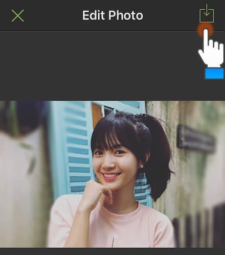 Mẹo chụp ảnh xóa phông trên iPhone 6S: Bước 10
