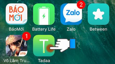 Mẹo chụp ảnh xóa phông trên iPhone 6S: Bước 1