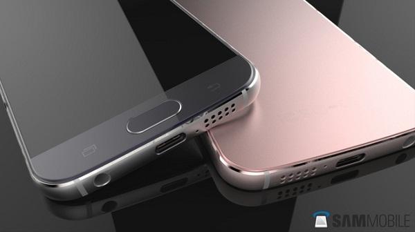 Concept Samsung Galaxy S7 phiên bản vàng hồng tuyệt đẹp