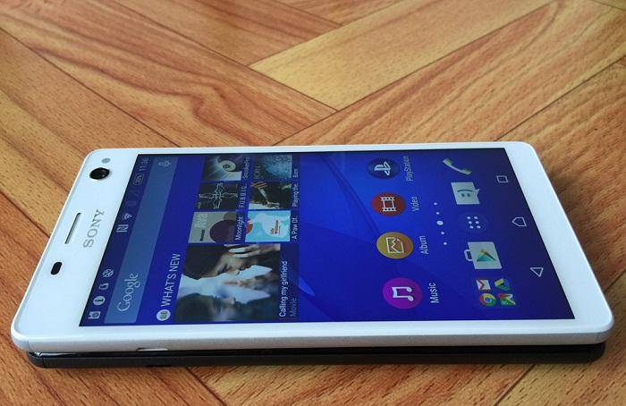 smartphone Sony bán chạy thiết kế
