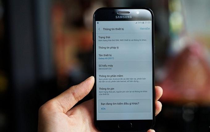 Thông tin Samsung Galaxy A5 2017