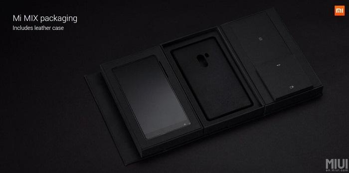 Xiaomi Mi MIX 2 sim