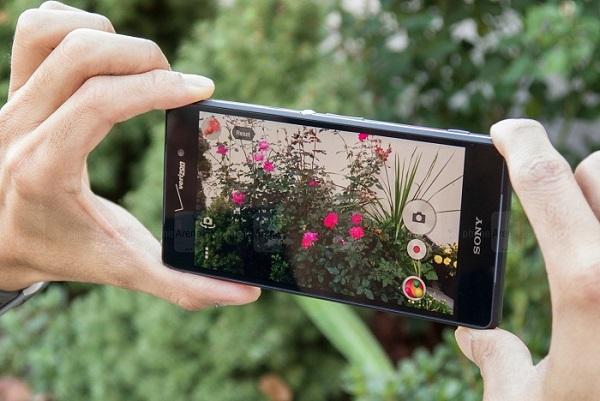 Camera Sony Xperia Z3v