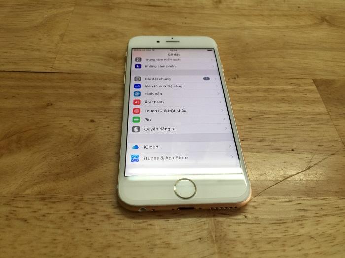Hệ điều hành iPhone 6