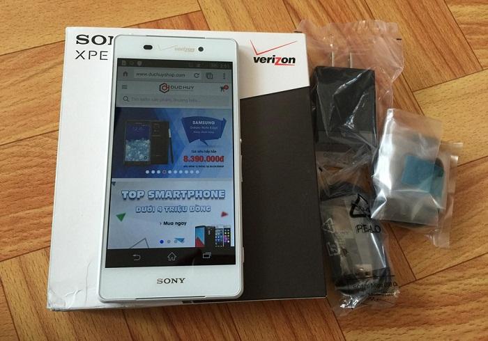 Sony Xperia Z3v được ưa chuộng 2