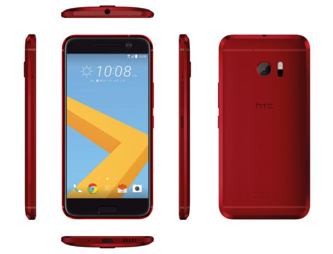 HTC 10 màu đỏ