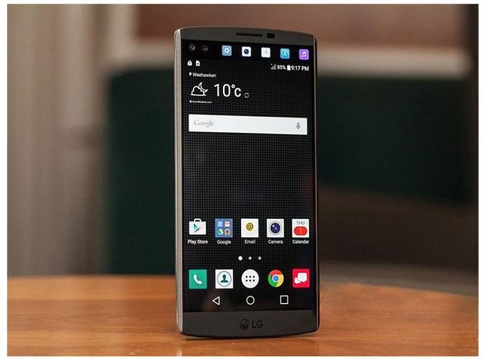 Thiết kế LG V10 cũ