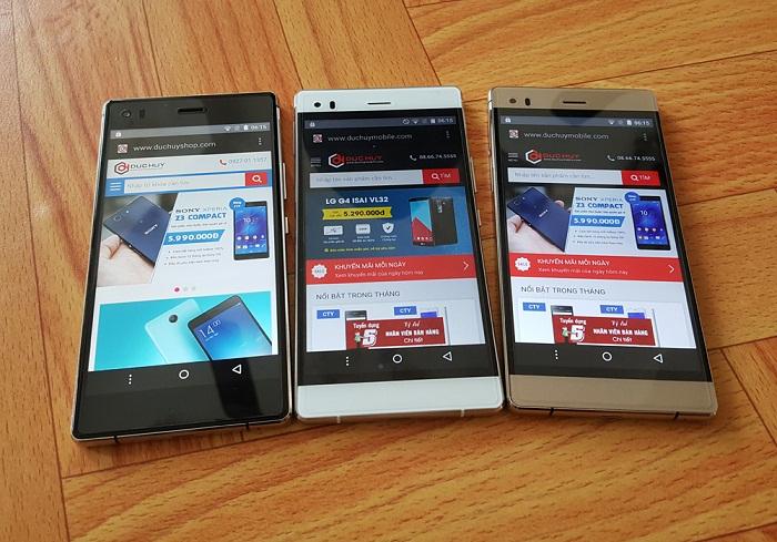 smartpone màn hình hd
