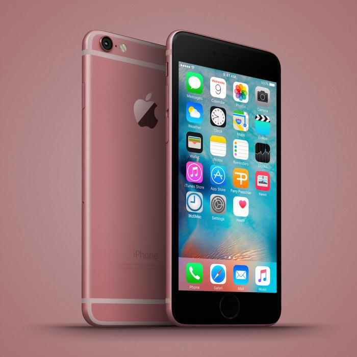 Bộ ảnh iPhone 6C 7