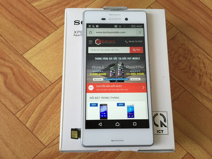 smartphone Sony Xperia cao cấp giá chỉ từ 3 triệu 1
