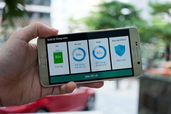 Samsung Galaxy Note 5 tiết kiệm pin
