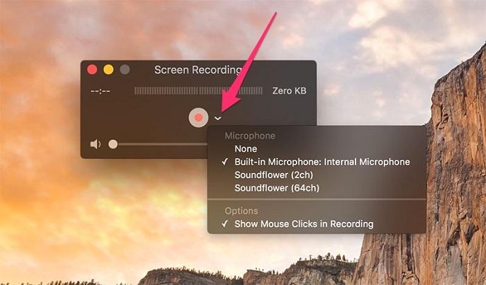 iPhone, iPad, iPod và Macbook quay màn hình 1