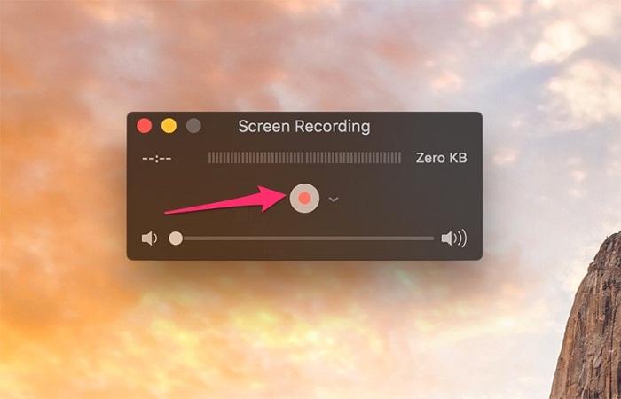 iPhone, iPad, iPod và Macbook quay màn hình 2