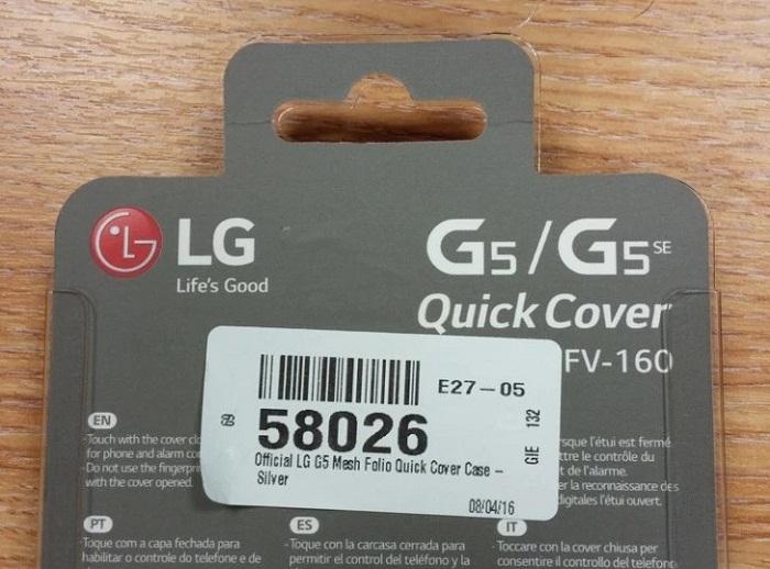 LG G5 SE lộ diện