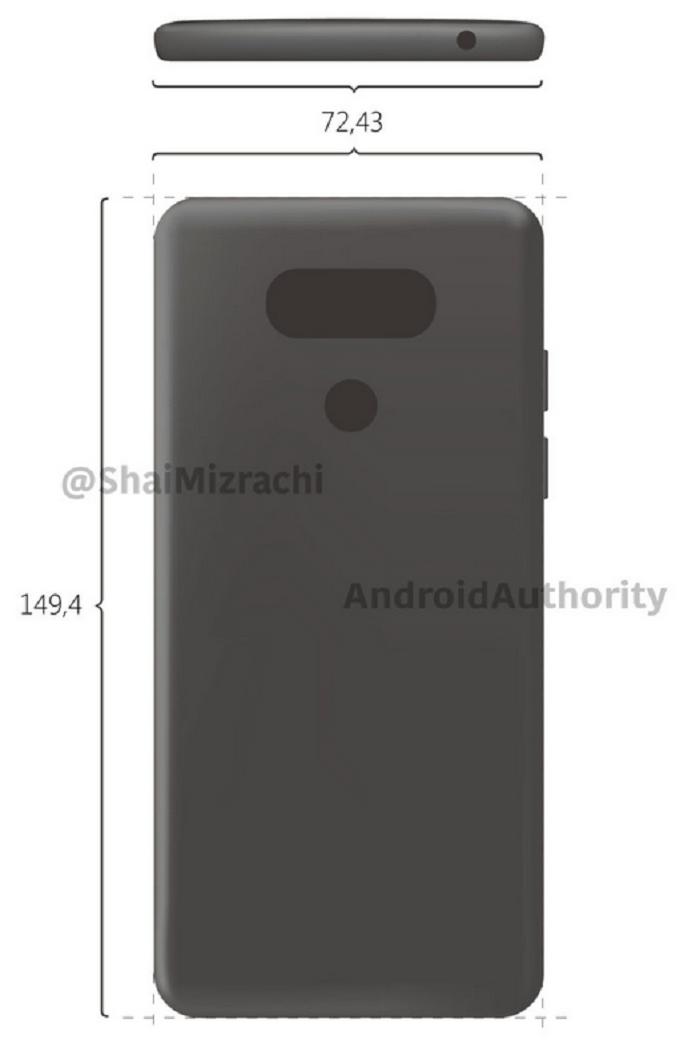 LG G6 lộ thiết kế 1