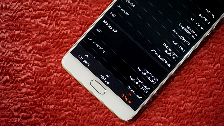 Cấu hình Samsung Galaxy C9 Pro