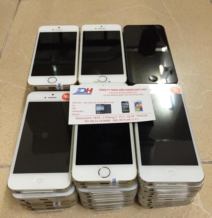 iPhone 5, 5S là hàng mới 99% rất đẹp