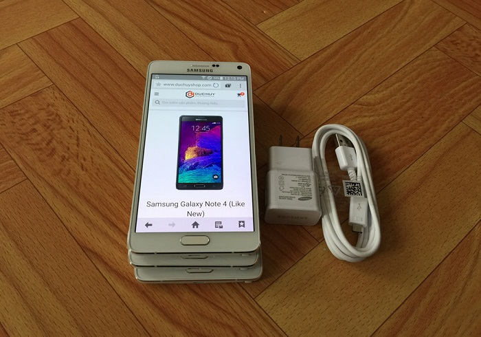 Samsung Galaxy Note 4 cũ