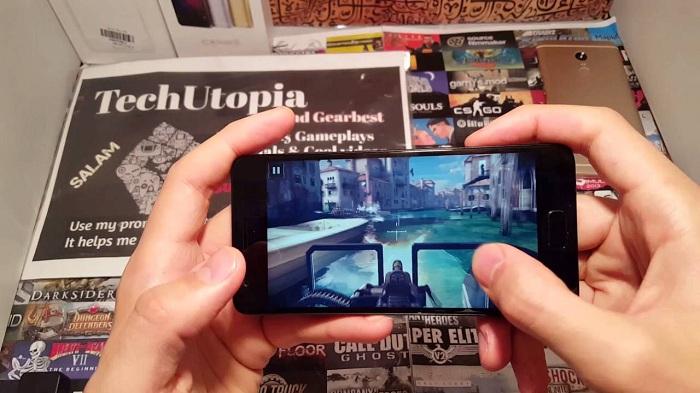 chơi game Lenovo ZUK Z2