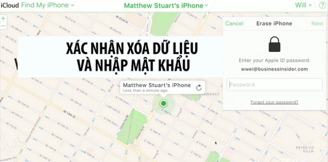 Phải làm gì khi quên mật khẩu iPhone? 8