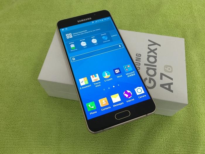 trên tay Samsung Galaxy A7 2016