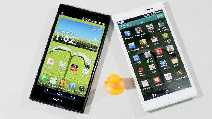smartphone giá khoảng 4-5 triệu tốt