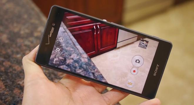 Thiết kế Sony Xperia Z3v
