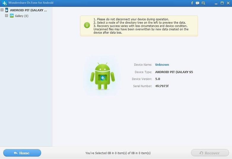Cách Hướng dẫn khôi phục hình ảnh bị xóa trên thiết bị android