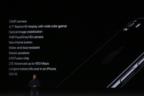 iPhone 7 ra mắt ấn tượng