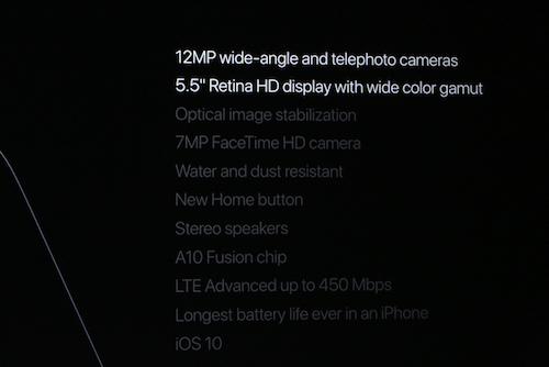 iPhone 7 ra mắt