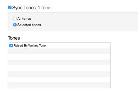 cài đặt chuông iPhone từ iTunes