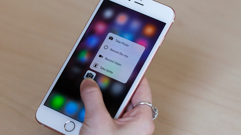 3D Touch iPhone 6S Plus