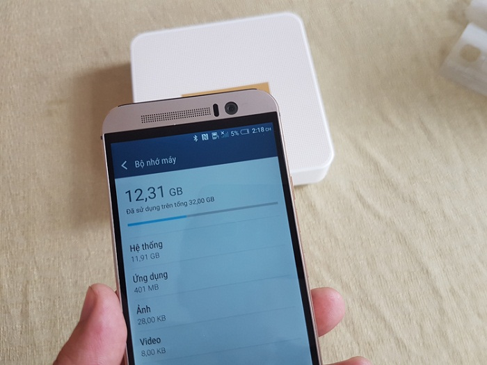 Bộ nhớ HTC One M9