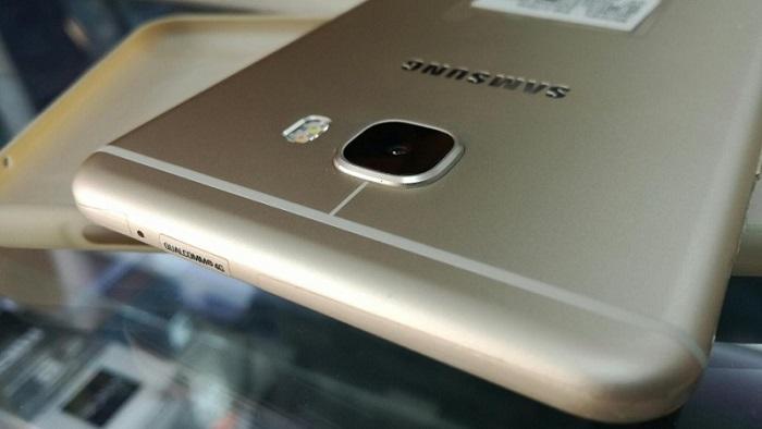 Ảnh thực tế Samsung Galaxy C7 Pro