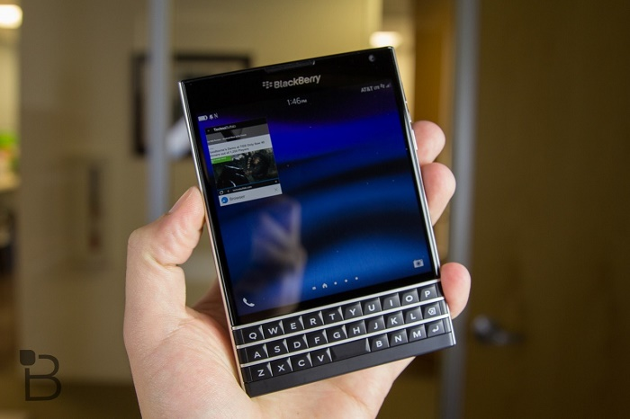 cấu hình Blackberry Passport
