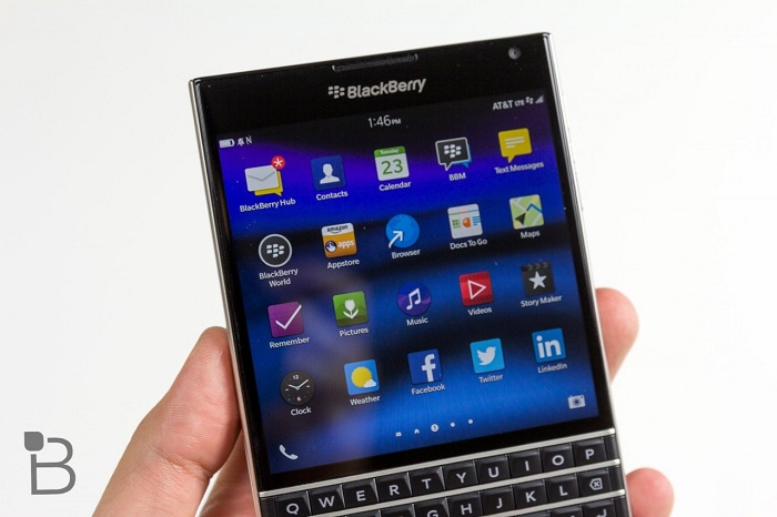 Blackberry Passport giá rẻ