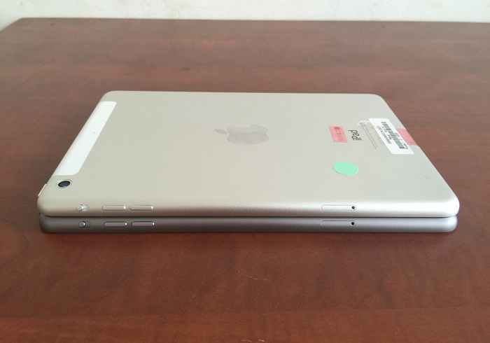 cạnh trái iPad Mini 2